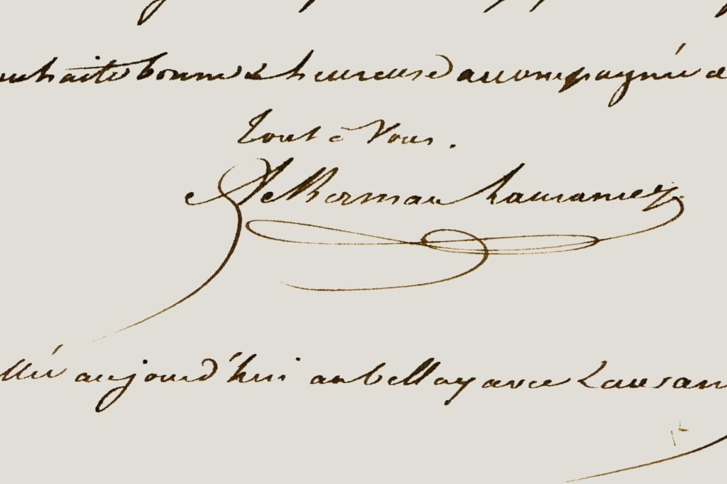 Signature Jean-Baptiste Ackerman