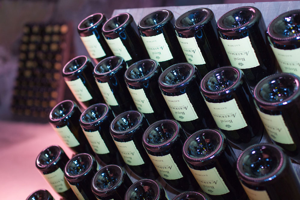 Winemaking fine sparkling wines