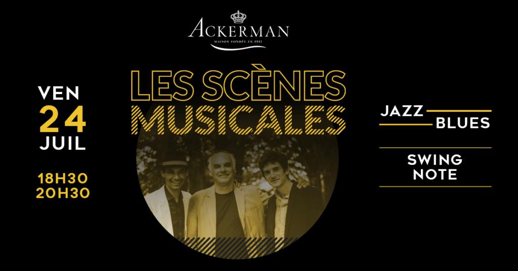 Scènes musicales Ackerman