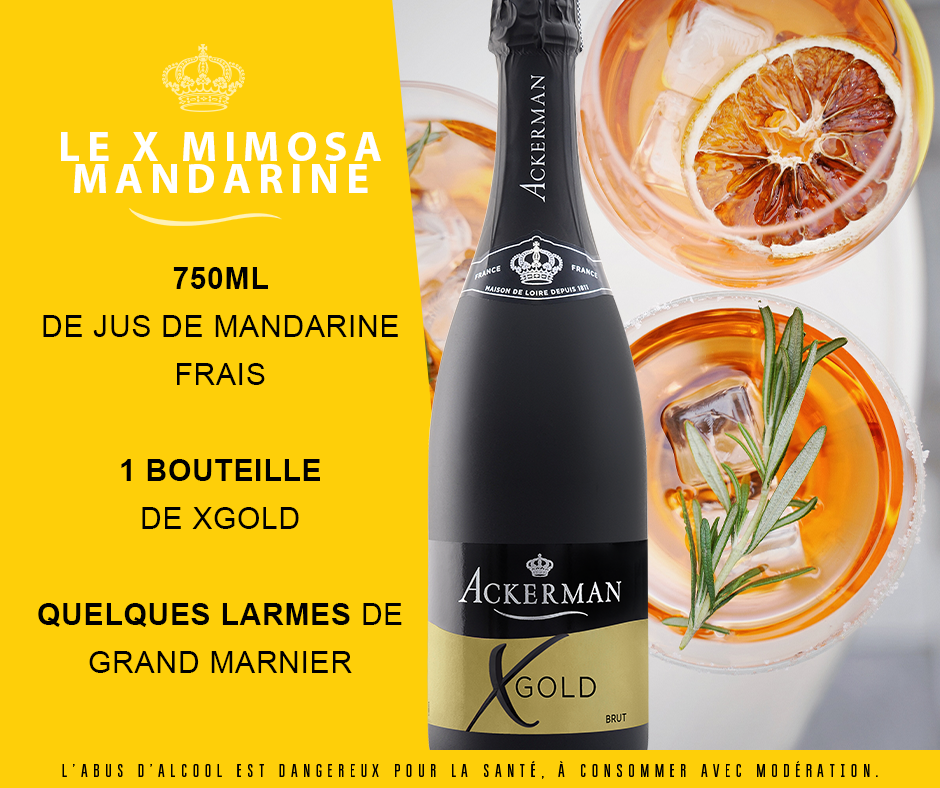 Cocktail Xgold Mimosa mandarine