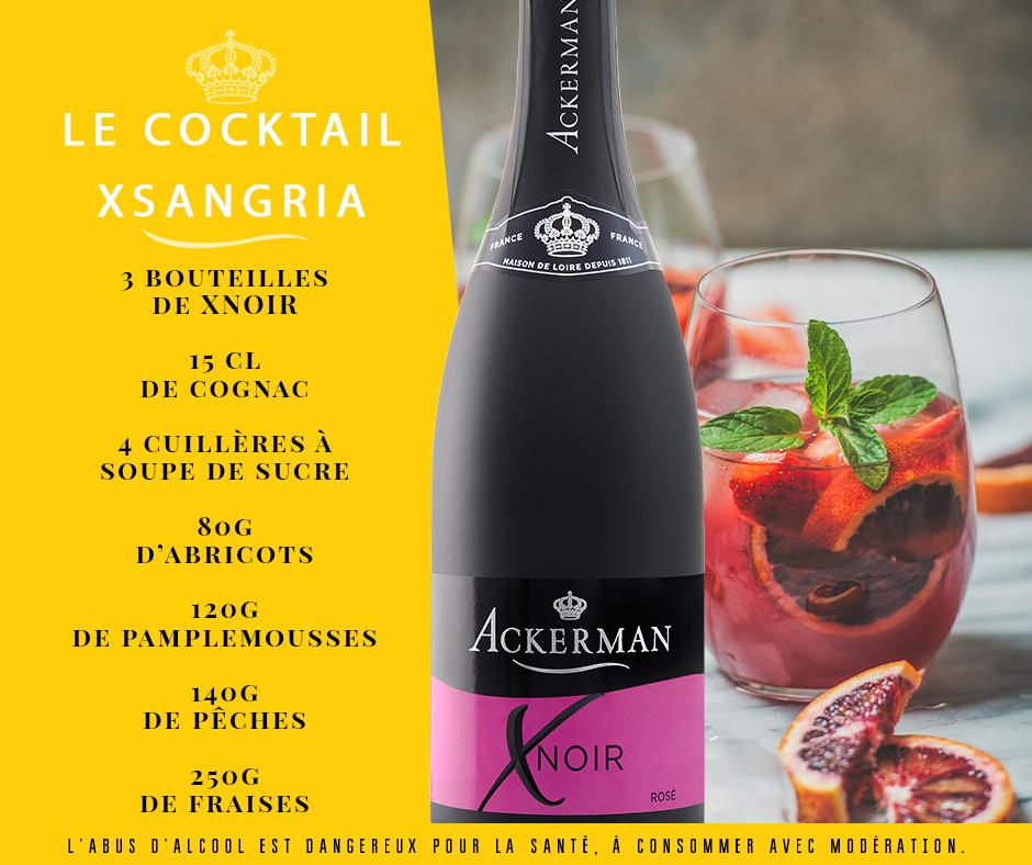 Cocktail XNoir Sangria
