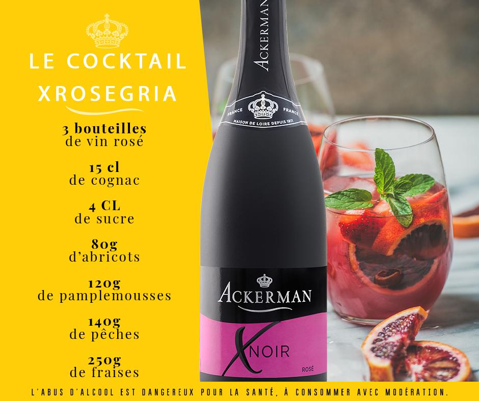 Cocktail Xnoir Rosegria