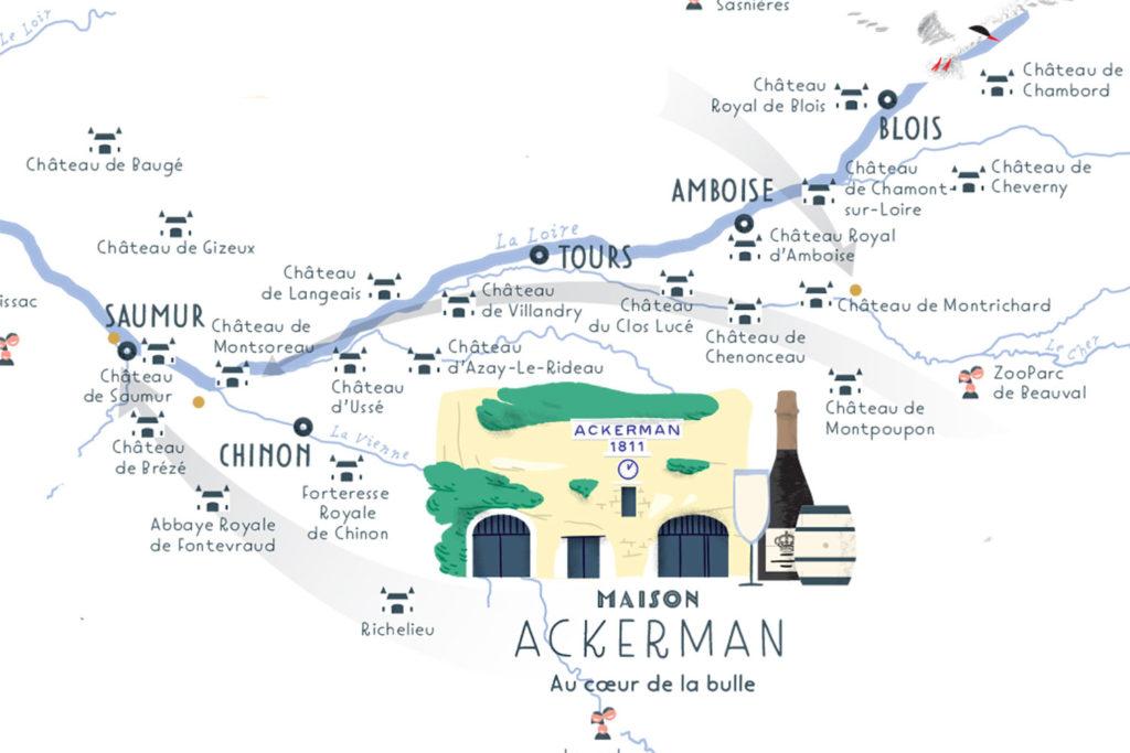 La route des vins de loire